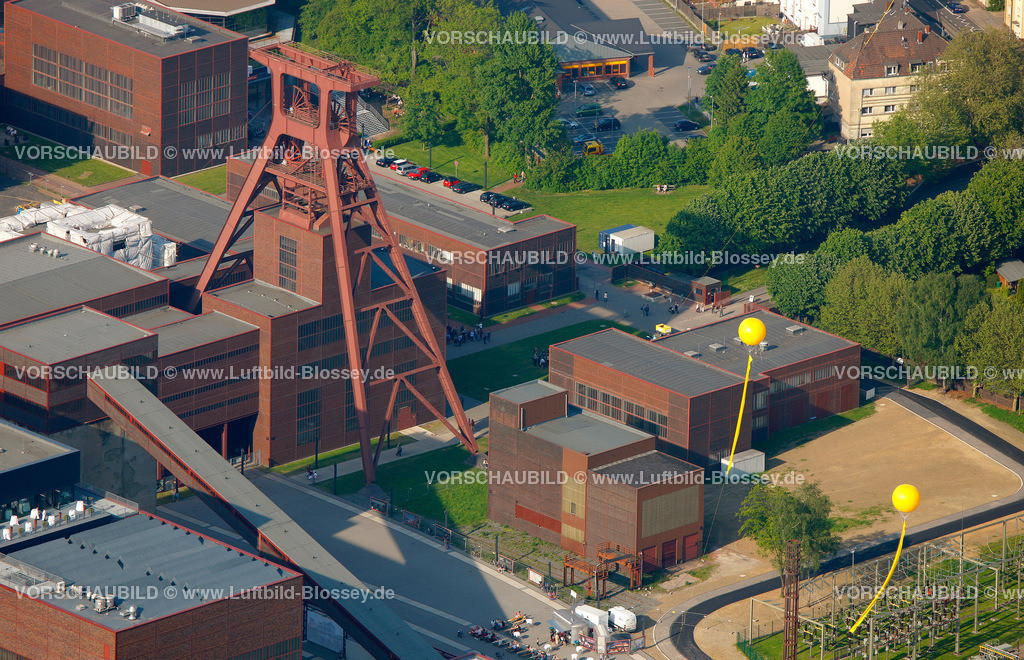 ES10056436 | Zollverein 12/6/8 Weltkulturerbe, Schachtzeichen ruhr2010,  Essen, Ruhrgebiet, Nordrhein-Westfalen, Deutschland, Europa, Foto: hans@blossey.eu, 22.05.2010