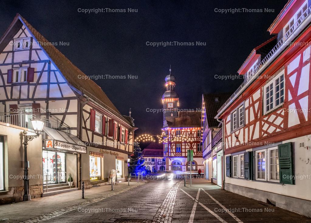 DSC_4210 | ble,Lorsch, blaues Weihnachtswunder, Innenstadt, ,, Bild: Thomas Neu