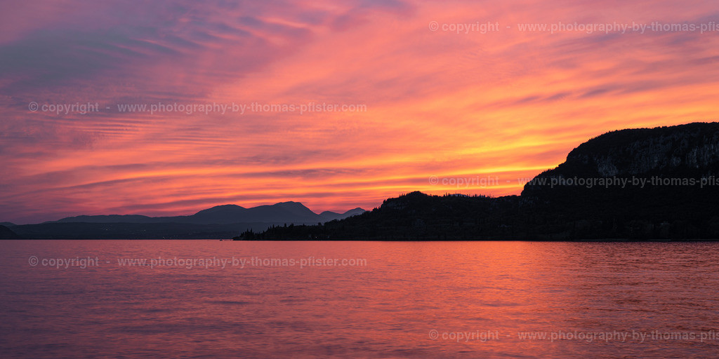 Sonnenuntergang Garda am Gardasee-2