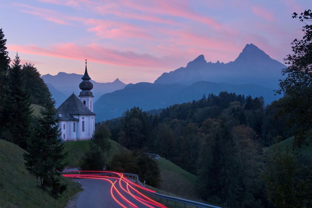Maria Gern, Watzmann | Die Serie 'Deutschlands Landschaften' zeigt die schönsten und wildesten deutschen Landschaften.