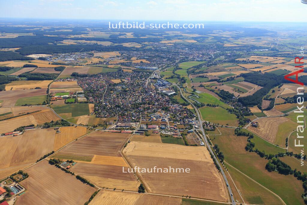 diespeck-2015-2234 | Luftbild von  Diespeck - Luftaufnahme wurde 2015 von https://frankenair.de mittels Flugzeug (keine Drohne) erstellt - die Geschenkidee