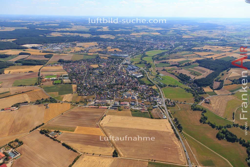 diespeck-2015-2234   Luftbild von  Diespeck - Luftaufnahme wurde 2015 von https://frankenair.de mittels Flugzeug (keine Drohne) erstellt - die Geschenkidee