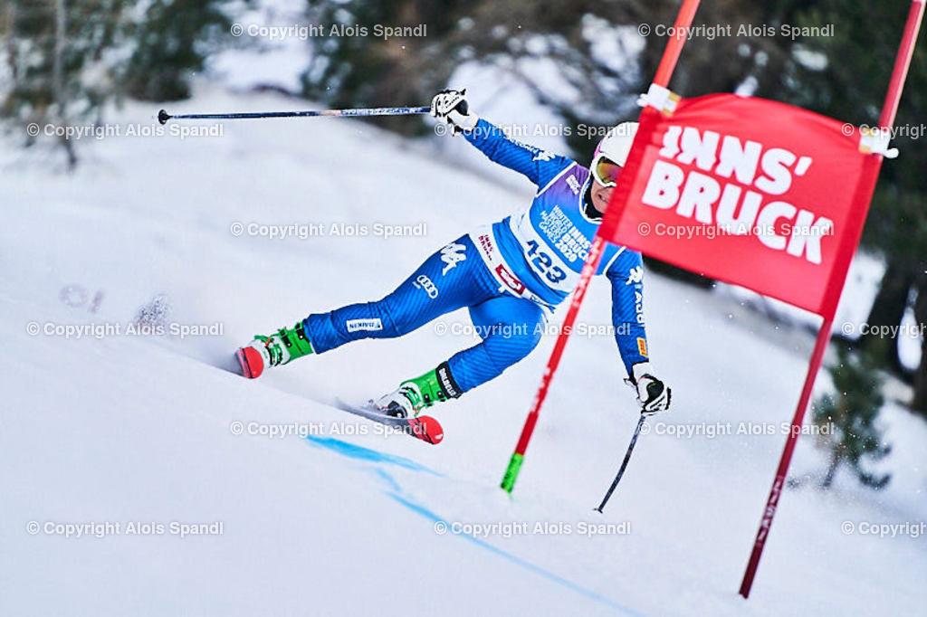 ALS5793_WWMG_GS-II_C   (C) FotoLois.com, Alois Spandl, WinterWorldMastersGames 2020 Innsbruck, Giant Slalom-II Gruppe C Damen, Patscherkofel Olympiaabfahrt, Mi 15. Jänner 2020.
