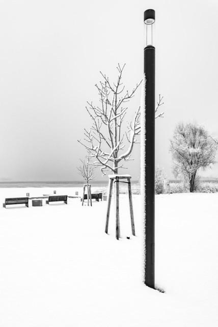 Prenzlau im Winter   Prenzlau im Winter