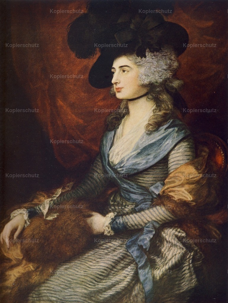 Gainsborough_ Thomas (1727-1788) - Mrs. Siddons - History of Art 1911