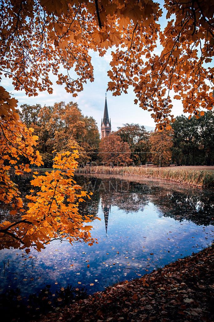 Lutherkiche Leipzig Herbstwelt