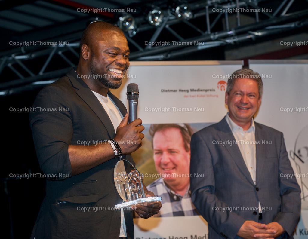 DSC_6907   Bensheim, Musiktheater Rex,Verleihung des Karl Kübel Preises 2018 (an Gerald Asamoah) und des Dietmar Heeg Medienpreises. , Bild: Thomas Neu