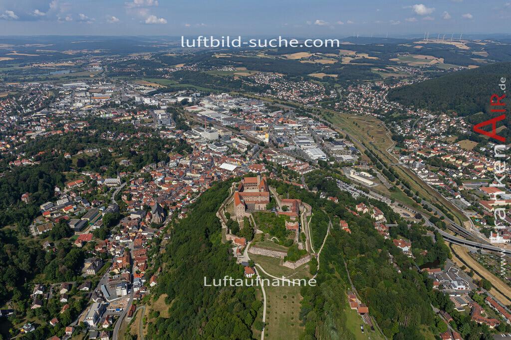 plassenburg-pano-kulmbach-19-683   aktuelles Luftbild von Plassenburg-pano  Kulmbach - Luftaufnahme wurde 2019 von https://frankenair.de mittels Flugzeug (keine Drohne) erstellt.