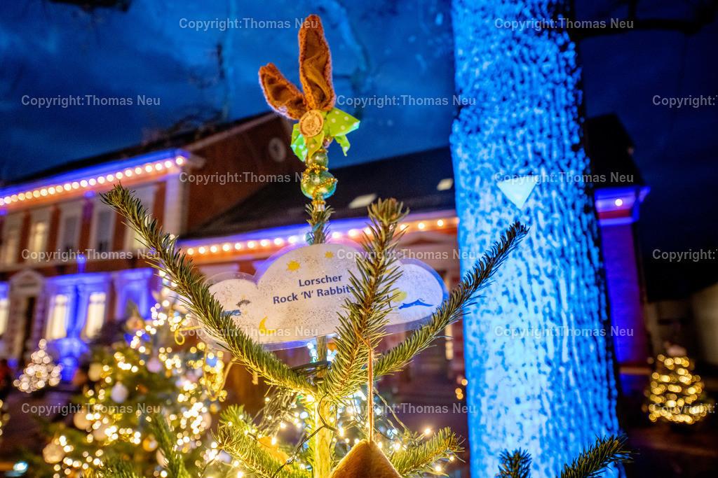 DSC_4140 | ble,Lorsch, blaues Weihnachtswunder, Innenstadt, ,, Bild: Thomas Neu