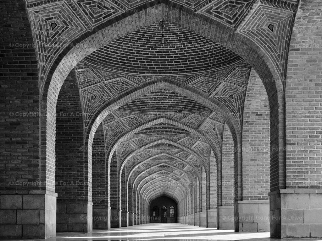 Iran | Die Kabud-Moschee (Blaue Moschee) in Täbris