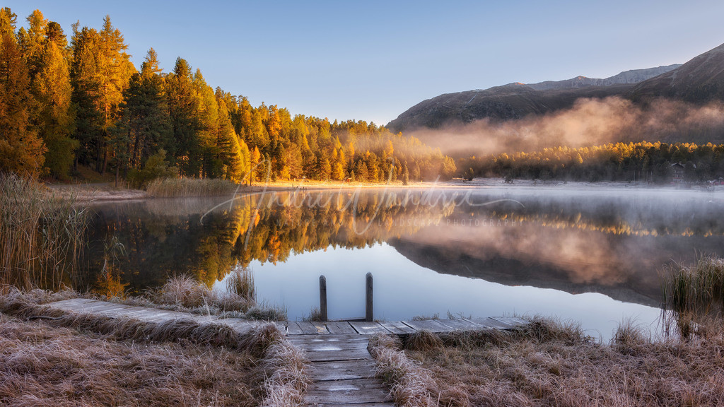Morgenstimmung am See
