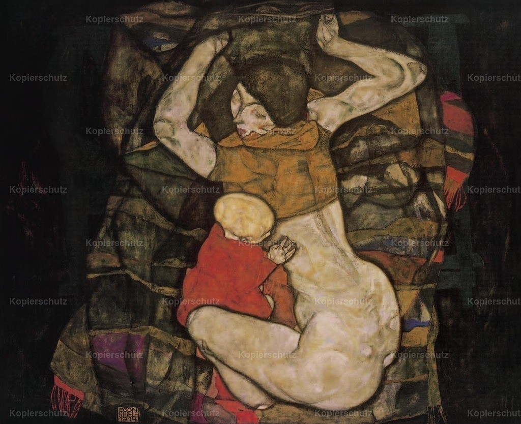 Schiele_ Egon (1890-1918) - Young Mother 1914