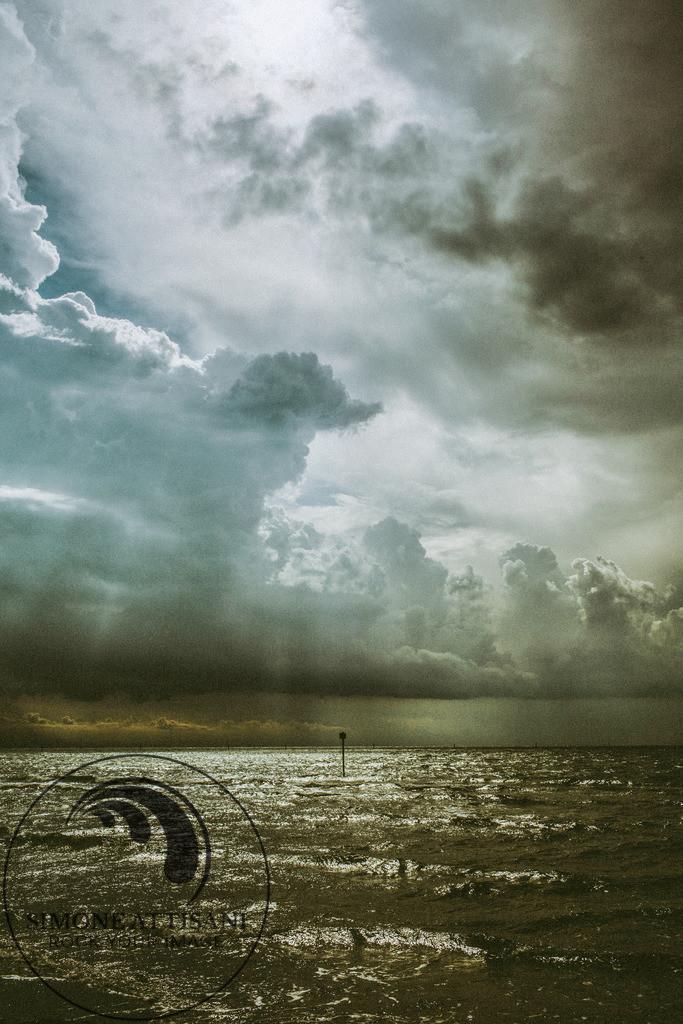 After the Storm   Das Meer in Grado nach einen Sturm