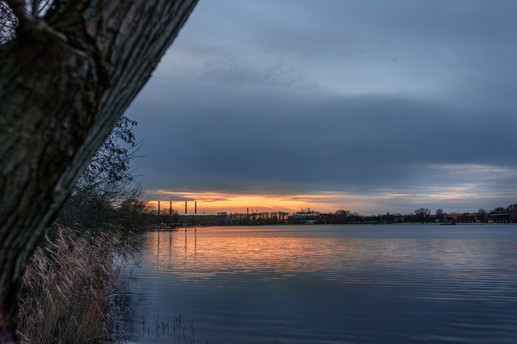 Sunset Allersee 01.21