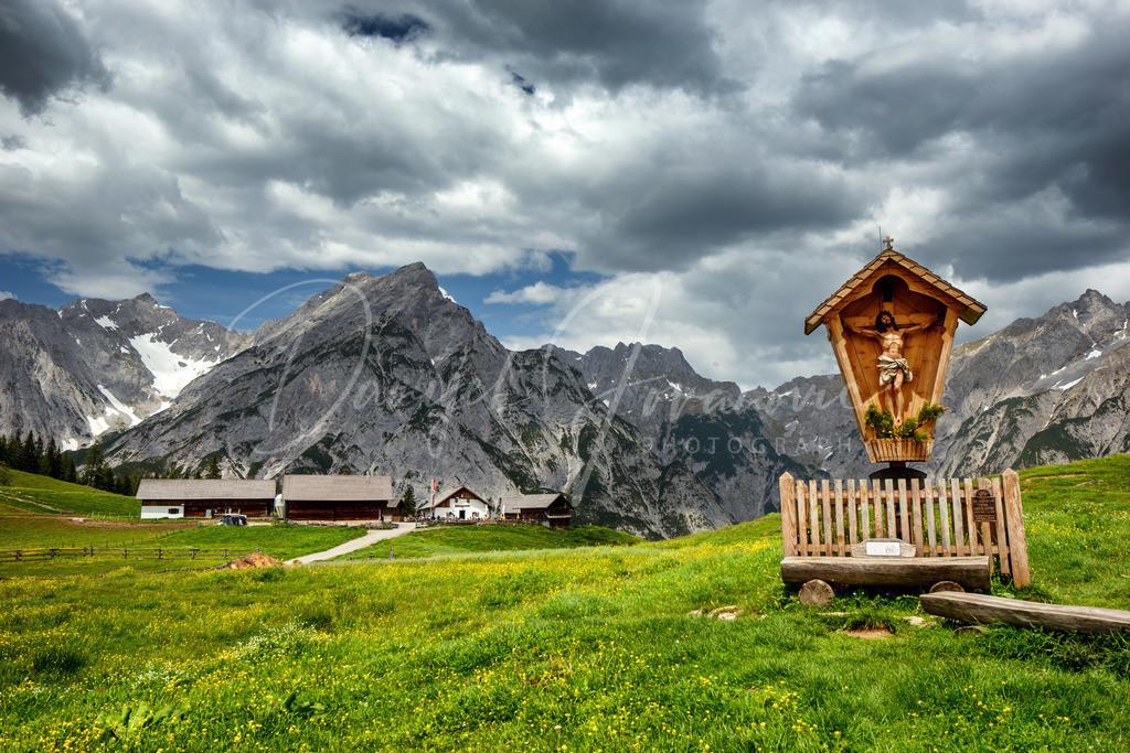 Walderalm | Die Walderalm im Karwendel
