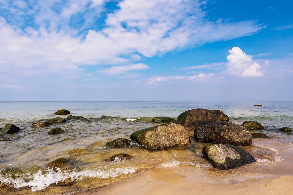 Die Ostseeküste auf der Insel Rügen | Die Ostseeküste auf der Insel Rügen.