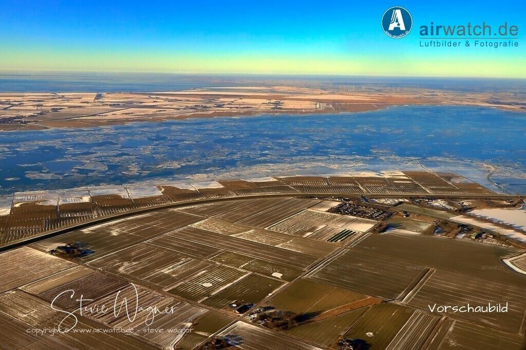 Winter Luftbilder, Nordsee, Nordfriesland, Siemonsberg, | Winter Luftbilder, Nordsee, Nordfriesland, Siemonsberg,