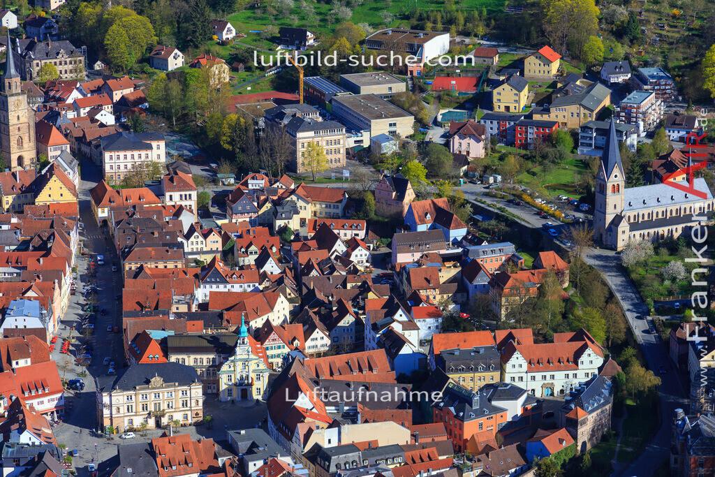 kulmbach-2016-3209   Luftbild von  Kulmbach - Luftaufnahme wurde 2016 von https://frankenair.de mittels Flugzeug (keine Drohne) erstellt - die Geschenkidee