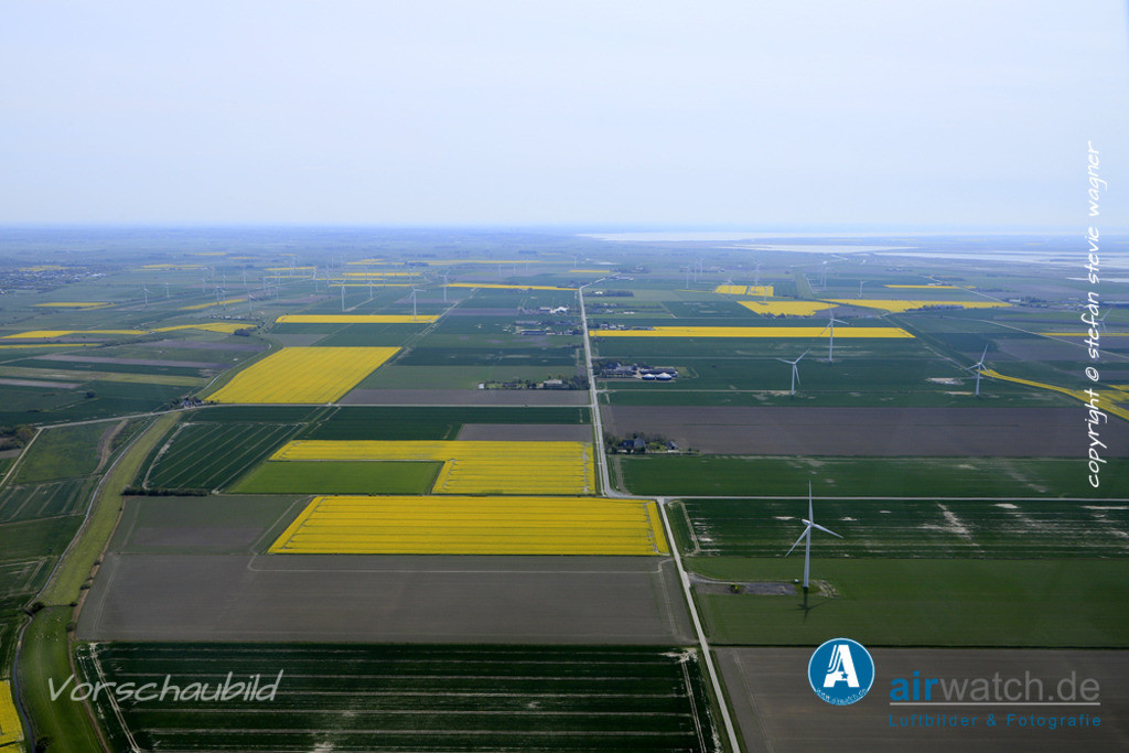 Luftbilder Bredstedter Koog | Bredstedter Koog, Reußenkoog, Hoolstill, Sönke-Nissen-Koog, Mittelweg, Koogchausee