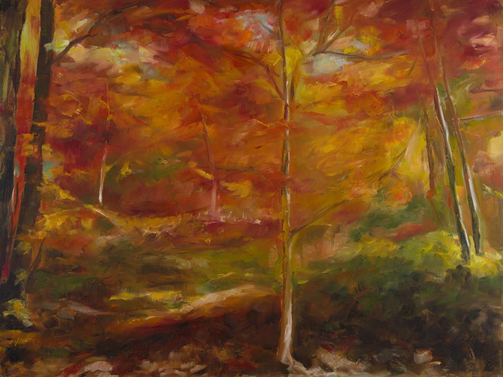 Herbsttraum | Originalformat: 60x80cm  -   Produktionsjahr: 2008