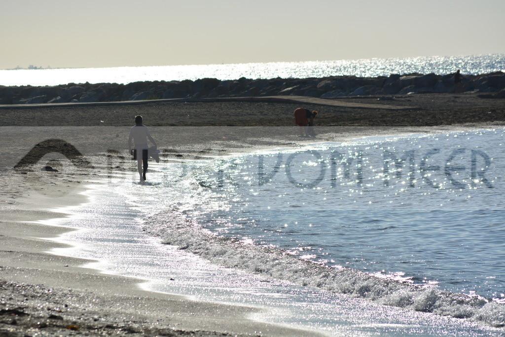 Strand Bilder | Am Morgen am Strand von Malaga
