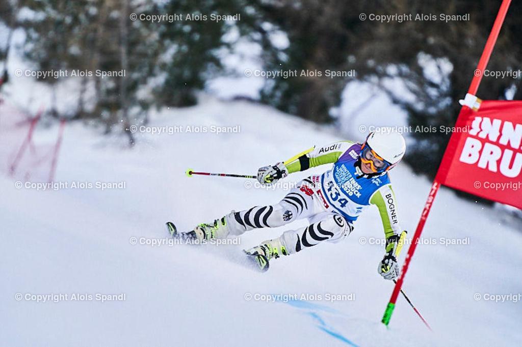 ALS5840_WWMG_GS-II_C | (C) FotoLois.com, Alois Spandl, WinterWorldMastersGames 2020 Innsbruck, Giant Slalom-II Gruppe C Damen, Patscherkofel Olympiaabfahrt, Mi 15. Jänner 2020.