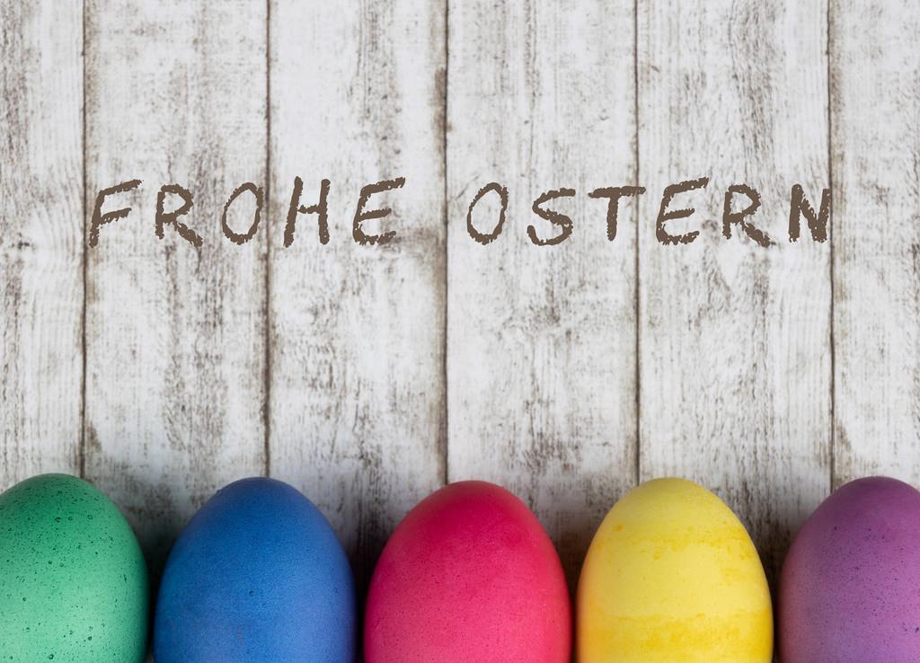 Frohe Ostern | Grußkarte zum Osterfest