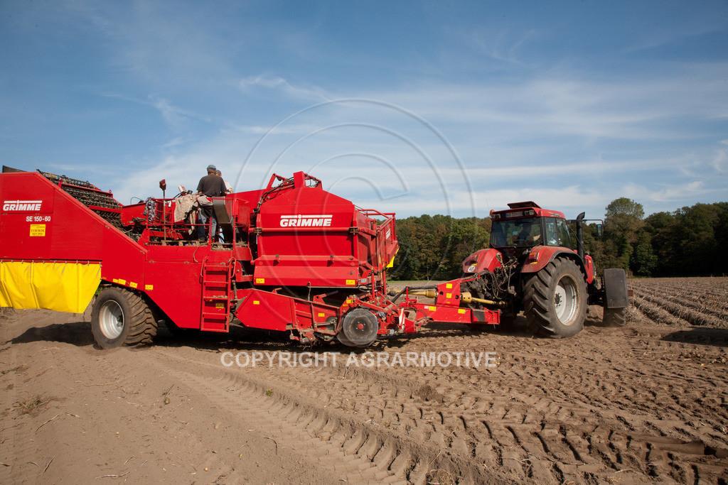 20110929-IMG_5851-ret | Ernte auf einem Kartoffelfeld - AGRARBILDER