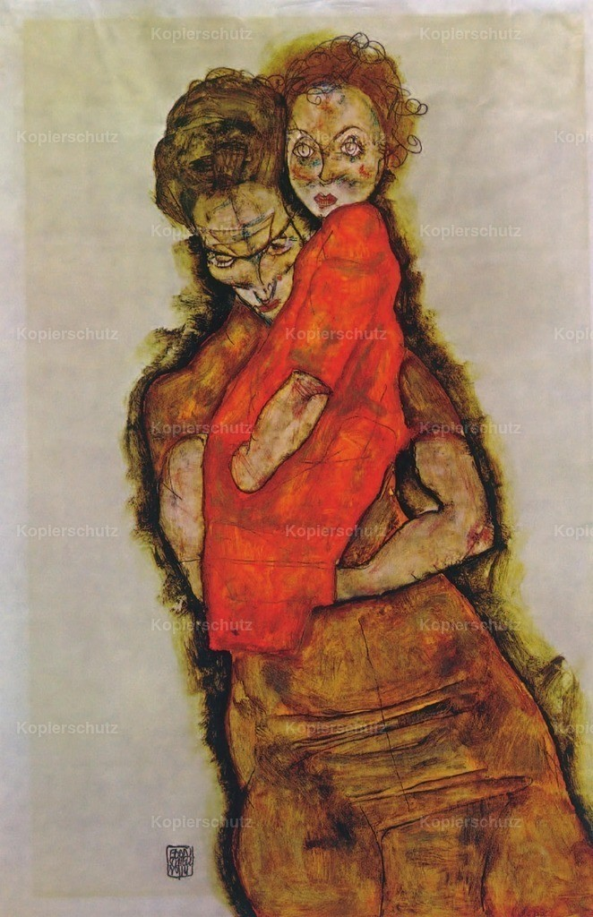 Schiele_ Egon (1890-1918) - Mother _ Child 1914