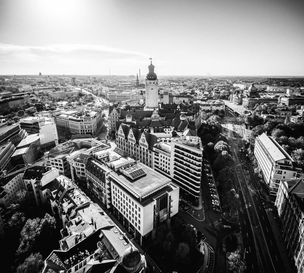 Leipzig Schwarz weiß (11)