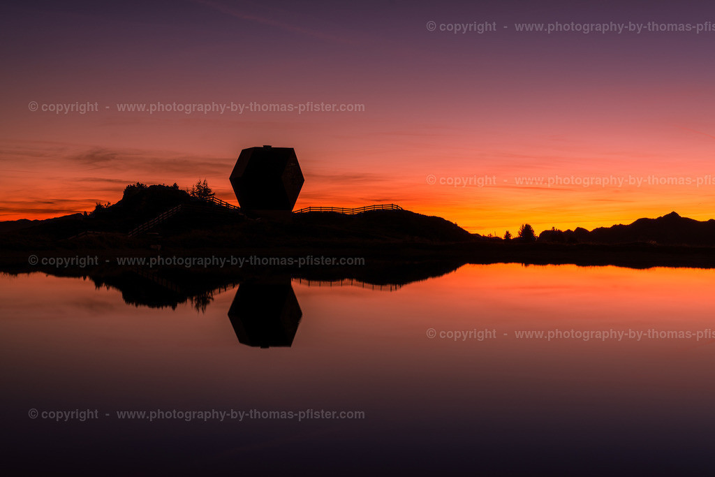 Granatkapelle Penkenjoch bei Sonnenaufgang-1