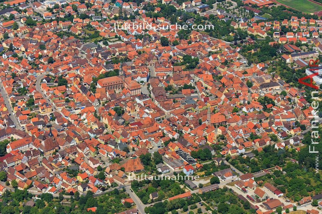 bad-windsheim-2015-1609 | Luftbild von  Bad-windsheim - Luftaufnahme wurde 2015 von https://frankenair.de mittels Flugzeug (keine Drohne) erstellt - die Geschenkidee