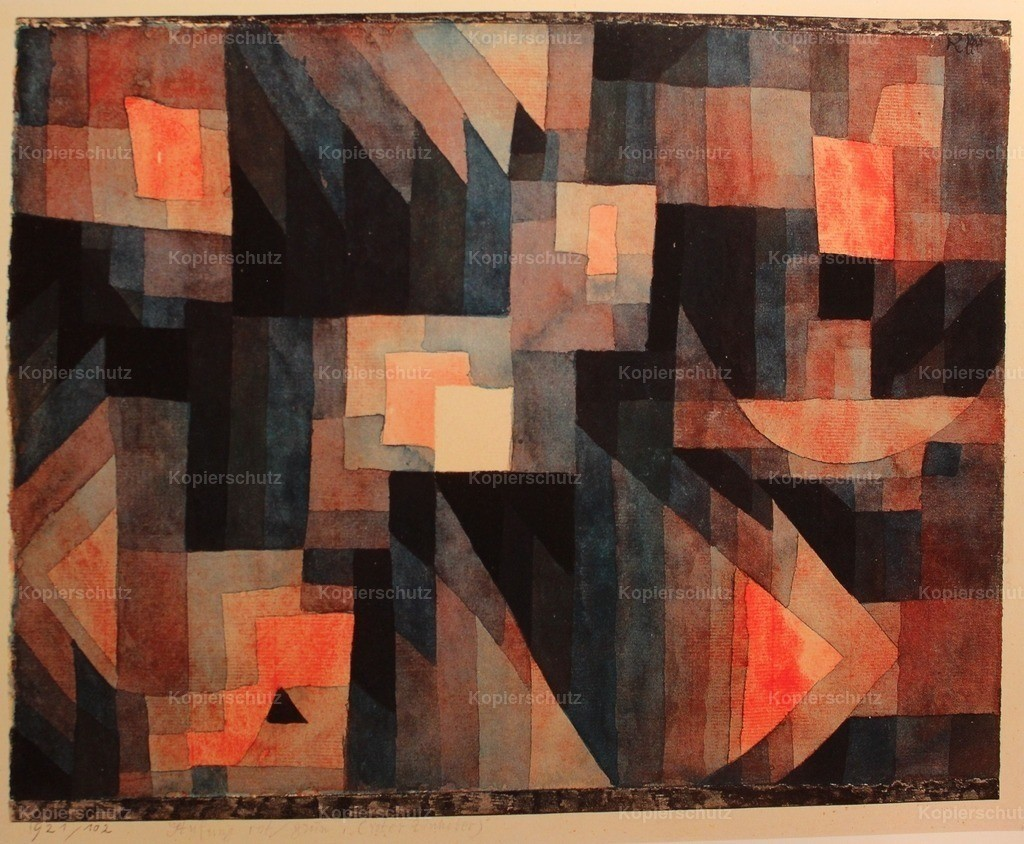 Klee_ Paul (1879-1940) - Abstract 1921