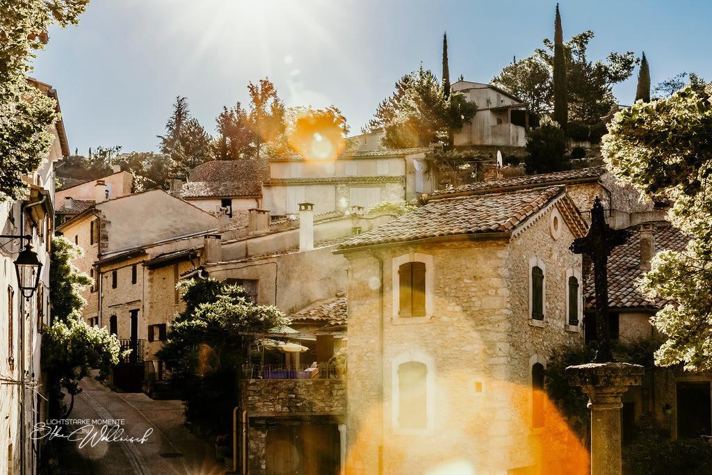 Morgensonne in Süd-Frankreich | Aurel, Vaucluse, Provence-Alpes-Côte d'Azur