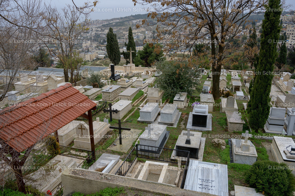 10972-10046 - Jerusalem _ Friedhof am Zionsberg