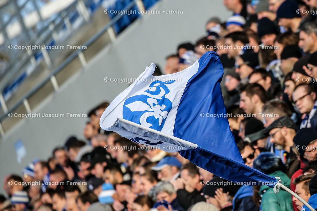 191221svdvshsv_0284 | 21.12.2019 Fussball 2.Bundesliga, SV Darmstadt 98-Hamburger SV emspor, despor  v.l.,  SV Darmstadt 98 #Fahne, Fans,Stimmung, Schals, Trikots, Emotionen    (DFL/DFB REGULATIONS PROHIBIT ANY USE OF PHOTOGRAPHS as IMAGE SEQUENCES and/or QUASI-VIDEO)