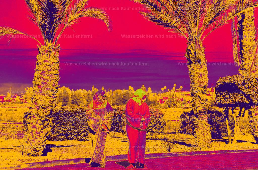 Waiting For The Bus | Marokko, Marrakesch, Photokunst, Kunstwerk, wallpaper, art