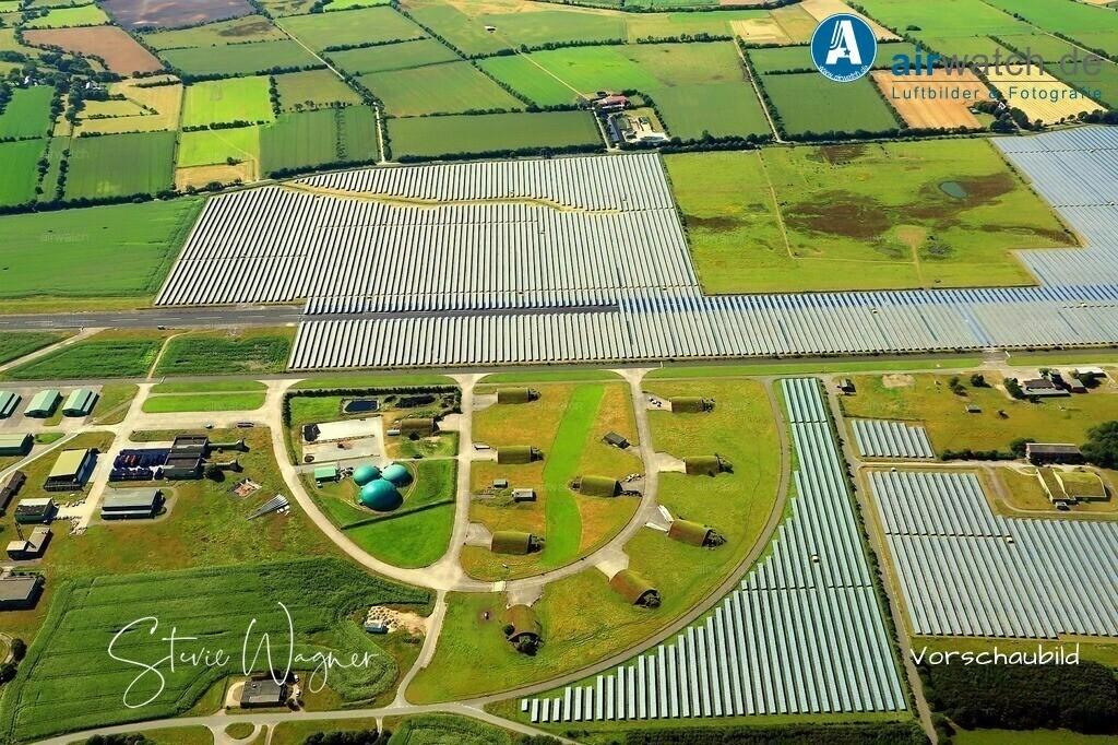 Solarpark Eggebek in Schleswig-Holstein   Solarpark Eggebek, ehemals Flughafen Eggebek - GPC Gewerbepark Carstensen GmbH