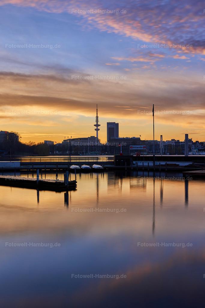10190610 - Sonnenuntergang an der Aussenalster