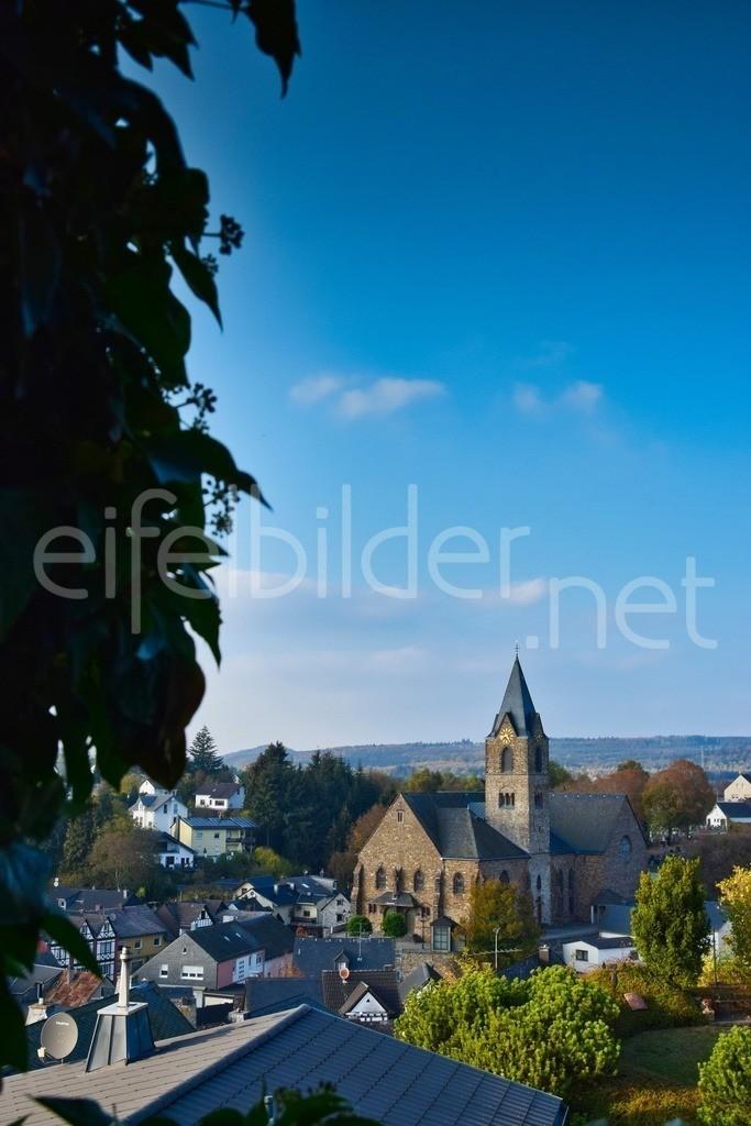 Blick von der Burg Ulmen | Ulmen in der Eifel