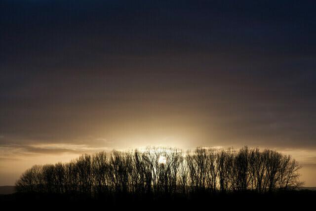 Sonnenuntergang in Melle-Gesmold