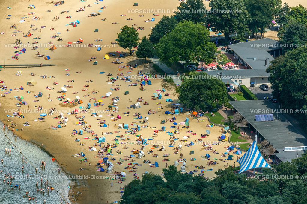 Haltern13081700 | Badesee, Halterner Stausee, Halterner See mit Seebad und Seeterasse, Luftbild von Haltern am See