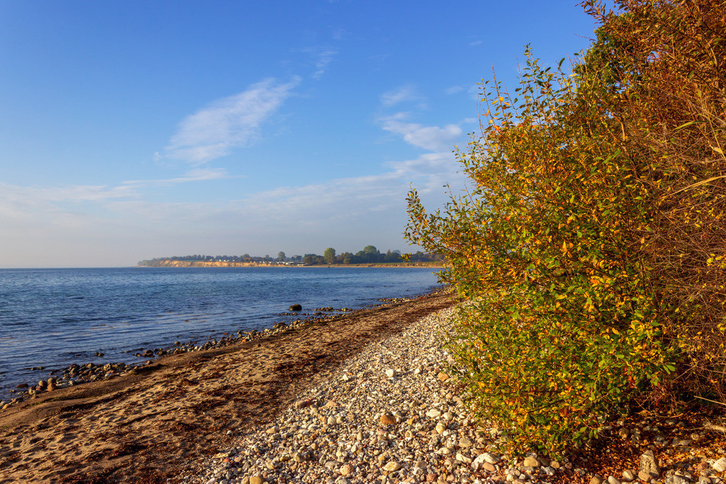 Strand in Hökholz   Strand in Hökholz im Herbst