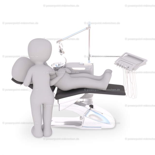 having a treatment at the dentist | Quelle: https://3dman.eu   Jetzt 250 Bilder kostenlos sichern