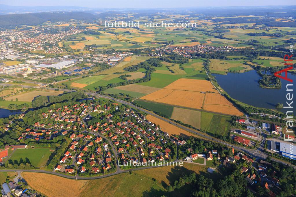 kulmbach-2015-1802   Luftbild von  Kulmbach - Luftaufnahme wurde 2015 von https://frankenair.de mittels Flugzeug (keine Drohne) erstellt - die Geschenkidee