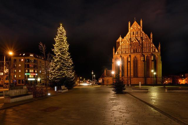 Weihnachtsmarkt 2020 | Ansicht aus Prenzlau