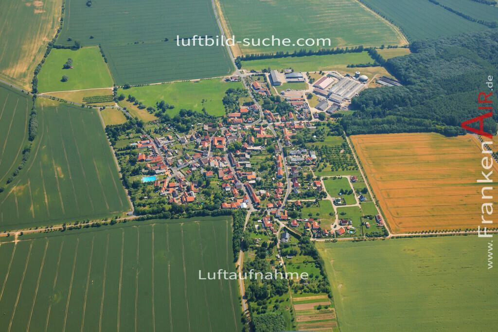 wiegleben-bad-langensalza-2013-73 | Luftbild von Wiegleben Bad-langensalza - Luftaufnahme wurde 2013 von https://frankenair.de mittels Flugzeug (keine Drohne) erstellt - die Geschenkidee