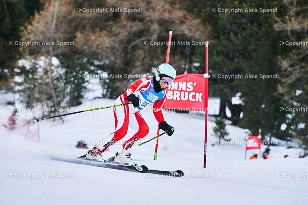 ALS5615_WWMG_GS-II_C | (C) FotoLois.com, Alois Spandl, WinterWorldMastersGames 2020 Innsbruck, Giant Slalom-II Gruppe C Damen, Patscherkofel Olympiaabfahrt, Mi 15. Jänner 2020.