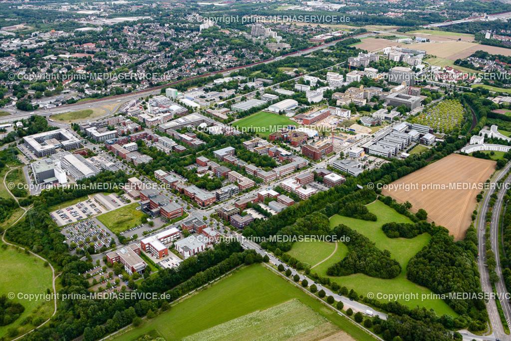 2012-08-28 Fotoflug Dortmund | Luftbildflug Dienstag, 28. August 2012 Deutschland, Nordrhein-Westfalen, Dortmund, Dorstfeld, Techologiepark, TU-Dortmund. Foto: Michael Printz / PHOTOZEPPELIN.COM