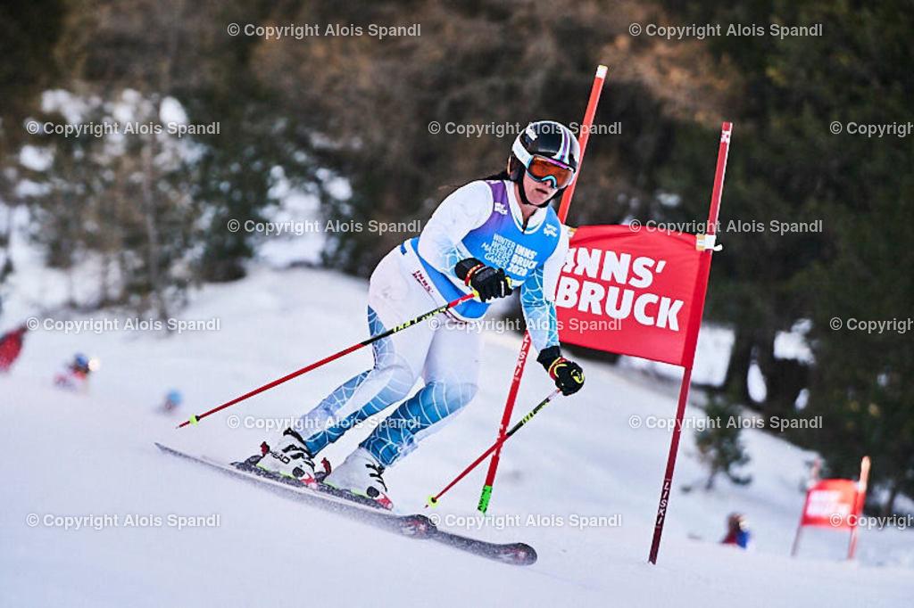ALS5973_WWMG_GS-II_C   (C) FotoLois.com, Alois Spandl, WinterWorldMastersGames 2020 Innsbruck, Giant Slalom-II Gruppe C Damen, Patscherkofel Olympiaabfahrt, Mi 15. Jänner 2020.